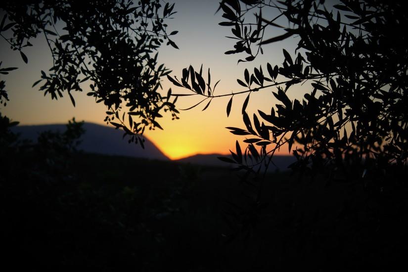 Crete sunset