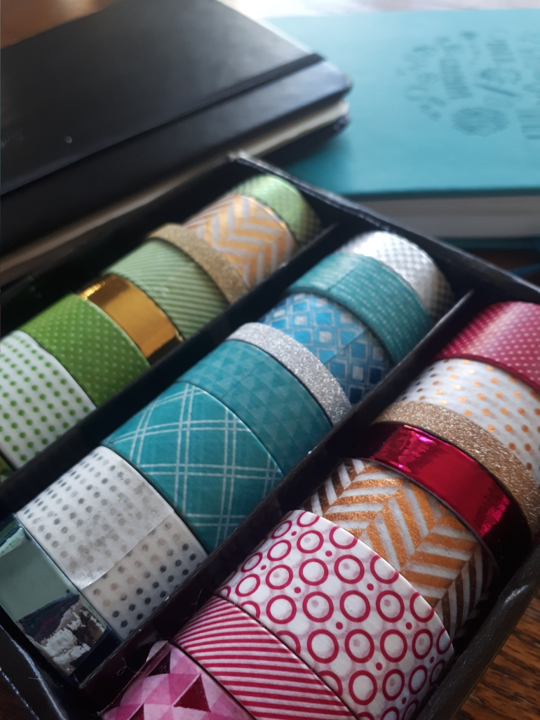 Washi tape from The Works | Rosie Lewis Writes