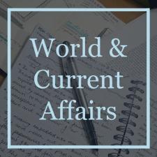 0 World & Current Affairs