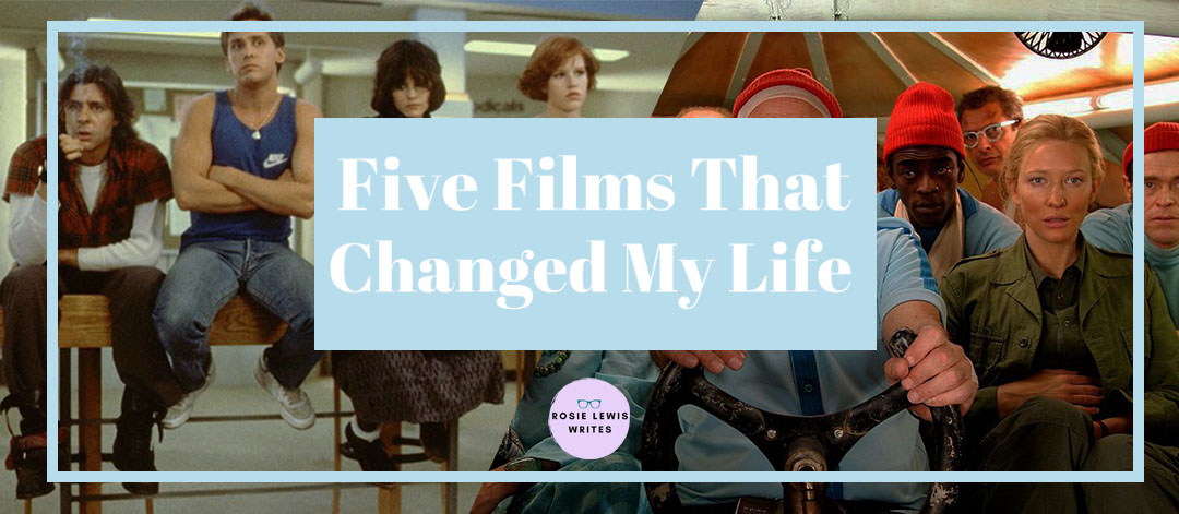Blog banner for Rosie Lewis' 'Five Films That Changed My Life'