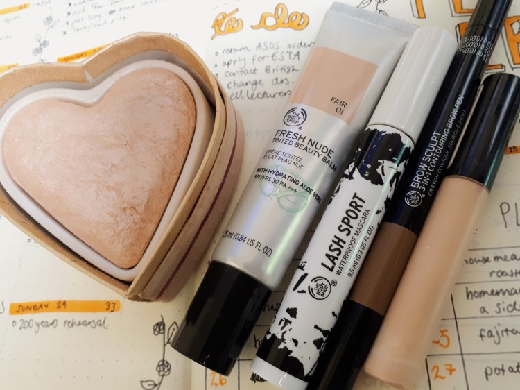Selection of Cruelty-Free make-up | rosie abigail