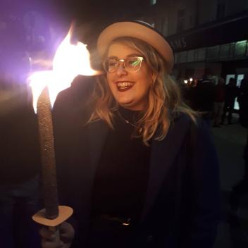 Rosie at Winchester Bonfire | rosie abigail