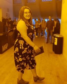 Rosie at the Tate Modern | rosie abigail