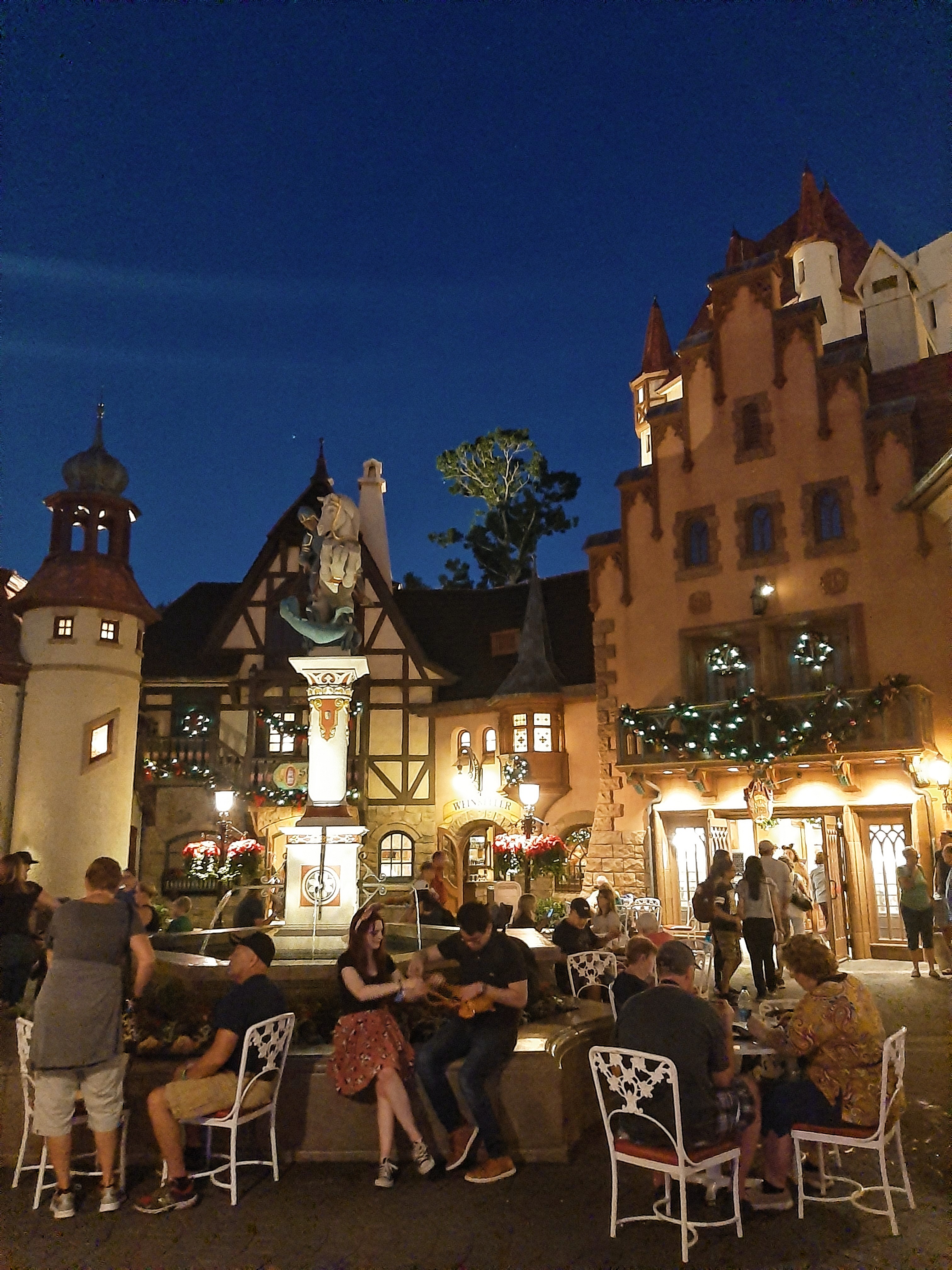 Square in EPCOT's Germany