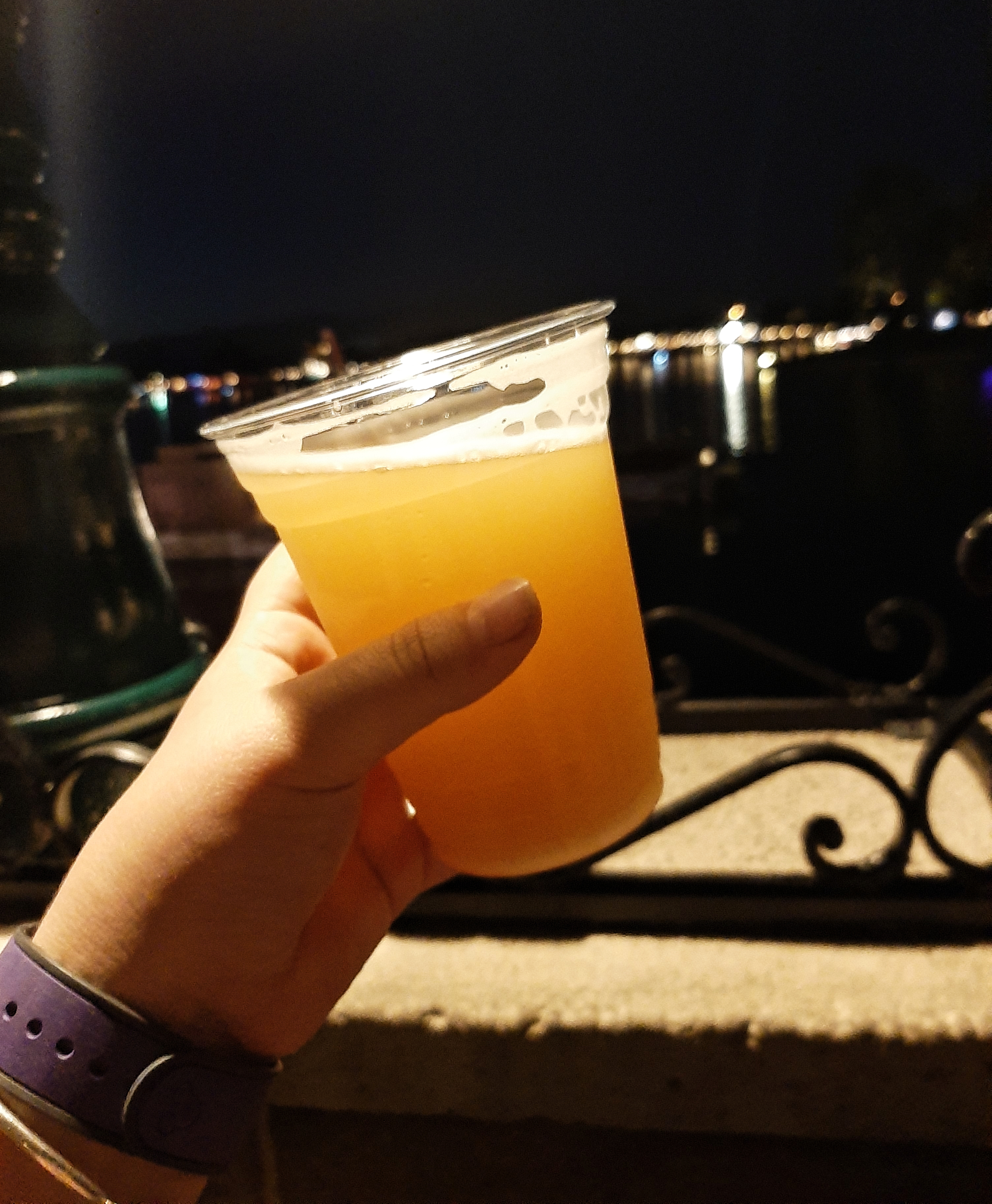 Hand holding a Mystery German Beer!