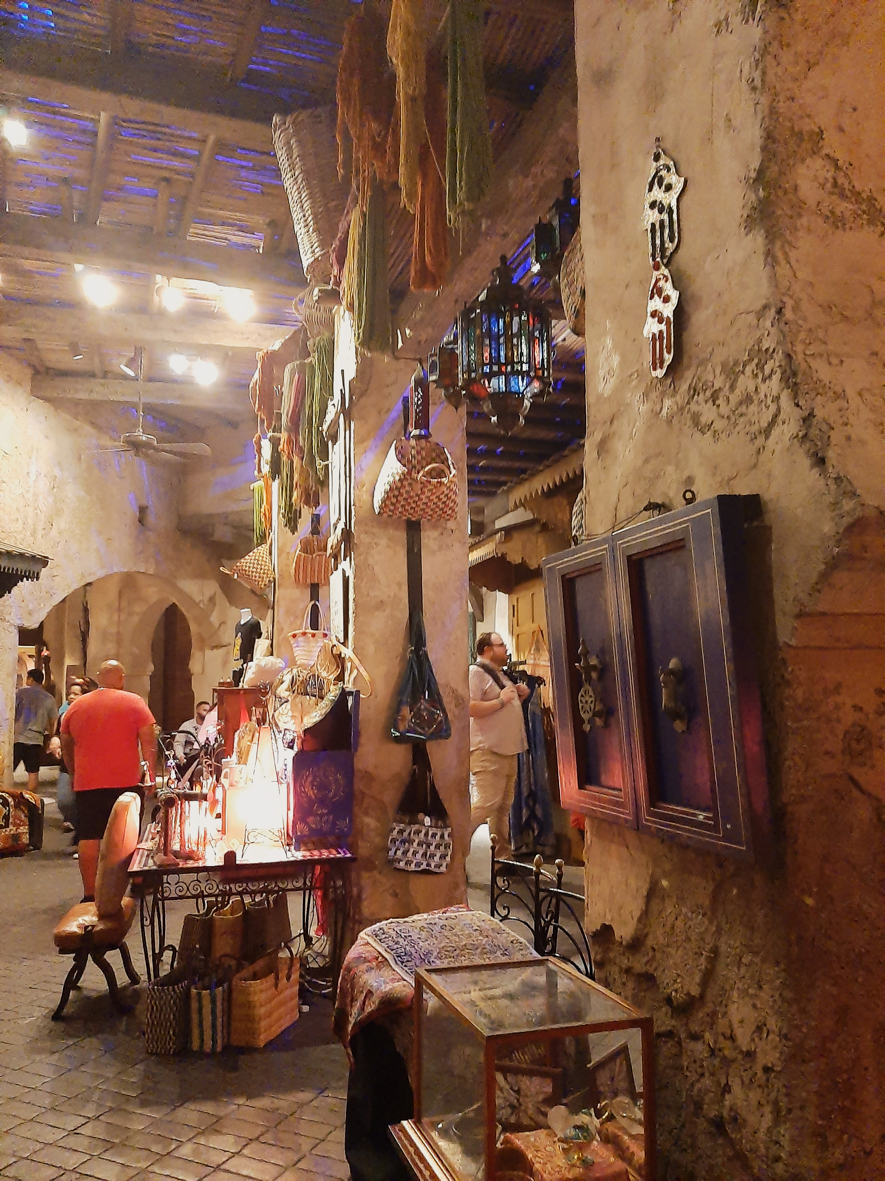 Example of the Moroccan souks, EPCOT