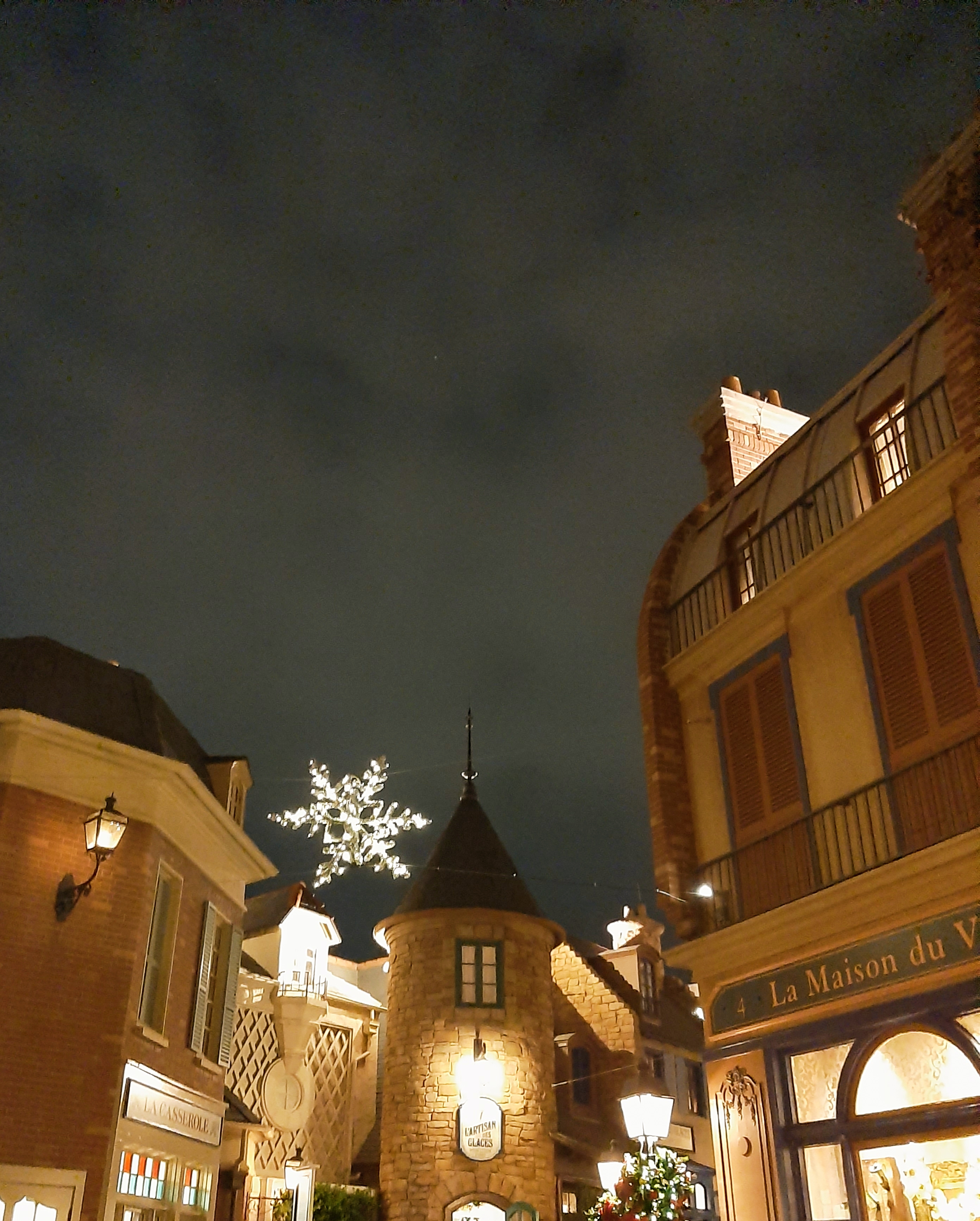 France Pavilion at night, EPCOT