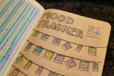 Close up of mood tracker