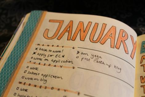 Week 2 January spread