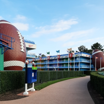 Photo of American Football area of All Star Sports Resort