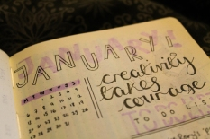 January month at a glance