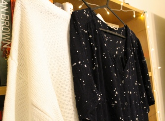 Dress from Fat Face, jumper from New Look | rosie abigal