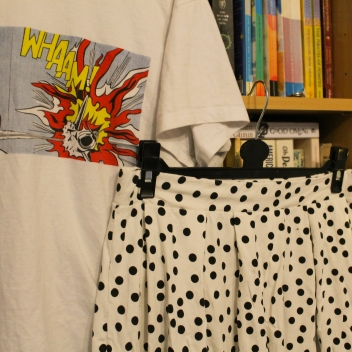 T-shirt from Tate Modern, skirt from ASOS
