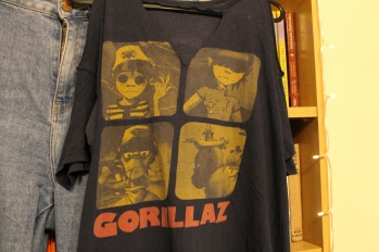 T-shirt from Gorillaz tour