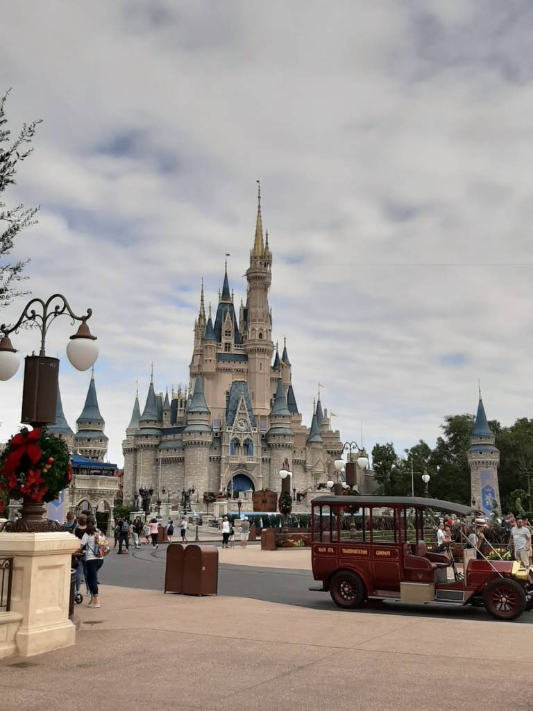 Image of castle at Magic Kingdom
